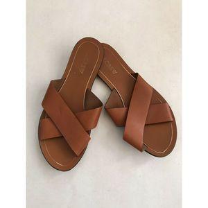 J. Crew Cyprus Sandals Leather B6658
